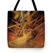 Abstract Crisscross Tote Bag