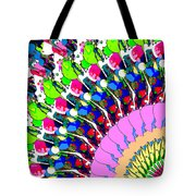 Abstract Digital Art Tote Bag by Phil Perkins