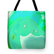 Abstract Down By The Sea  Tote Bag