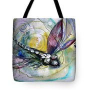 Abstract Dragonfly 11 Tote Bag
