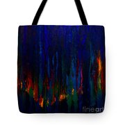 Abstract Evergreens Tote Bag