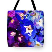 Abstract Floral 031112 Tote Bag