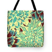 Abstract Flowers 15 Tote Bag
