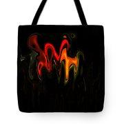 Abstract Fractals Melting 2 Tote Bag