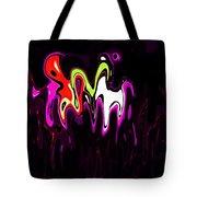 Abstract Fractals Melting 3 Tote Bag