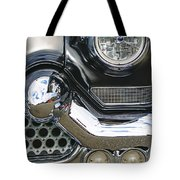 Abstract Front End Tote Bag