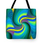 Abstract Fusion 108 Tote Bag