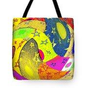 Abstract Fusion 110 Tote Bag