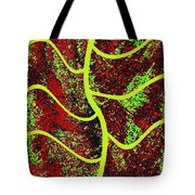 Abstract Fusion 120 Tote Bag