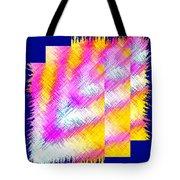 Abstract Fusion 127 Tote Bag