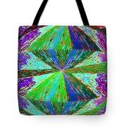 Abstract Fusion 129 Tote Bag