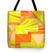 Abstract Fusion 14 Tote Bag