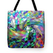 Abstract Fusion 15 Tote Bag