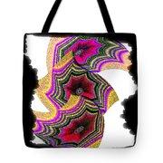 Abstract Fusion 154 Tote Bag
