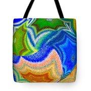 Abstract Fusion 155 Tote Bag