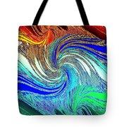 Abstract Fusion 159 Tote Bag