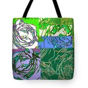 Abstract Fusion 42 Tote Bag