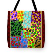 Abstract Fusion 43 Tote Bag
