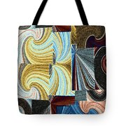 Abstract Fusion 45 Tote Bag