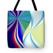 Abstract Fusion 50 Tote Bag