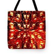 Abstract Fusion 76 Tote Bag