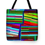 Abstract Fusion 77 Tote Bag