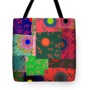 Abstract Fusion 79 Tote Bag