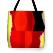 Abstract Fusion 84 Tote Bag