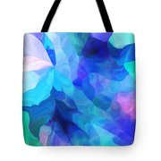Abstract In Blues 052612 Tote Bag