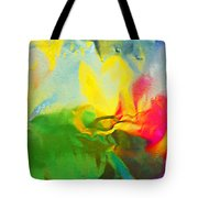Abstract In Full Bloom Tote Bag