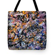 Abstract Interconnection Tote Bag