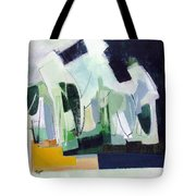 Abstract Island Night And Day Tote Bag