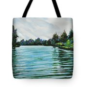 Abstract Landscape 5 Tote Bag