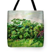 Abstract Landscape 6 Tote Bag
