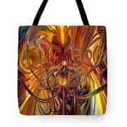 Abstract Medusa Fx   Tote Bag