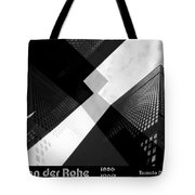 Abstract Mies Tote Bag