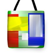 Abstract Number One Tote Bag