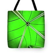 Abstract Of Green Tote Bag