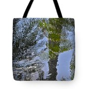 Abstract Palm Reflections Tote Bag