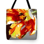 Abstract Parrot Tulip Tote Bag