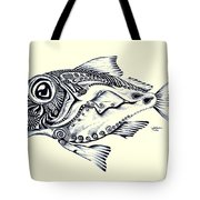 Abstract Redfish Tote Bag