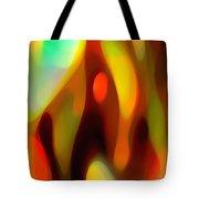 Abstract Rising Up Tote Bag