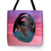 Abstract Sculpture 042412 Tote Bag
