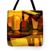 Abstract Sin 27 Tote Bag