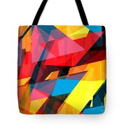 Abstract Sine L 14 Tote Bag