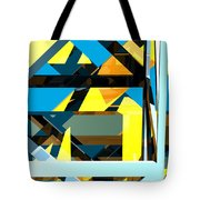 Abstract Sine L 15 Tote Bag