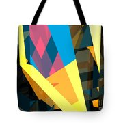 Abstract Sine L 16 Tote Bag