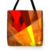 Abstract Sine L 17 Tote Bag