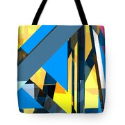 Abstract Sine L 18 Tote Bag