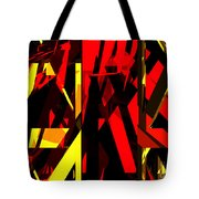 Abstract Sine L 20 Tote Bag